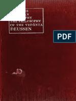 Indian Philosophy. Deussen