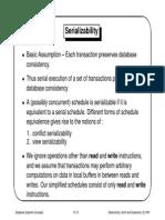 Serializability - DBMS Notes