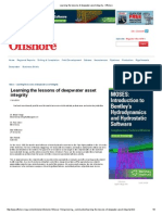 Learning the Lessons of Deepwater Asset Integrity - Offshore