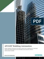 APOGEE Building Automation A6V10301530 Hq En