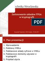 Zastosowanie układów FPGA