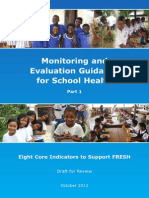 Monitoring Evaluation School Health