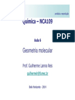 NCA109 Aula Teórica6 - Geometria Molecular