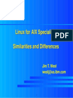 Linux for AIX Specialists