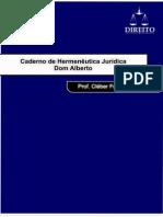 Caderno de Hermenêutica Jurídica _Cleber