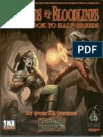 131685441 Bastards Bloodlines a Guidebook to Half Breeds PDF