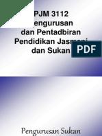 K1-Pengurusan Dan Pentadbiran PJ&Sukan
