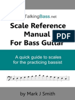 Talking Bass Scale Reference