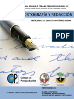 Manual Curso de Ortografia y Redaccion