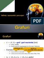 09 - Grafuri, Definitii, Reprezentare, Parcurgere