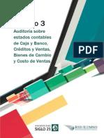 Módulo 3 - Lectura 3 - Auditoría Sobre Estados Contables de Caja y Banco Créditos y Ventas Bienes de Cambio y Costo de Ventas