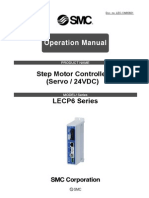 LECP6 Series Operation Manual