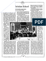 1987 Issue 1 - Chalcedon Christian School - Counsel of Chalcedon