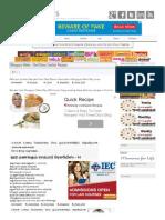 Mangayar Malar - Chef Damu Sambar Recipes _ Tamil Magazines