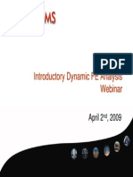 Nafems Dynamic Fea Webinar