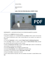 Manual Do Programa Sniffy Pro I