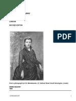 Annie BesantAn Autobiography by Besant, Annie Wood, 1847-1933