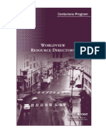Worldview Resource Directory