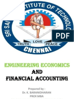 MANAGERIAL ECONOMICS INTRODUCTION -  B.E,(CS FINAL & IT 3RD YEAR) Dr.K.BARANIDHARAN, SRI SAIRAM INSTITUTE OF TECHNOLOGY, CHENNAI