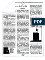 1987 Issue 2 - Chalcedon's Labors for Pro Life - Counsel of Chalcedon
