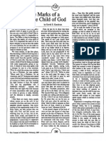 1987 Issue 2 - The Marks of a True Child of God - Counsel of Chalcedon