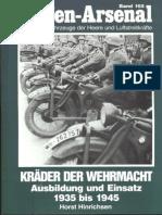 Waffen Arsenal - Band 165 - Kräder der Wehrmacht - Ausbildung und Einsatz
