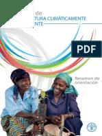 FAO - Climate-Smart Agriculture Sourcebook_Resúmen ESP