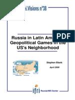 Russian Influence in Latin America