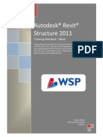 WSP Revit Structure Handout 001_Part 1 of 2