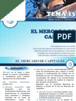 tema 13  mercado de capitales