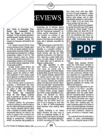 1987 Issue 3 - Book Reviews, The Aids Epidemic and Poverty and Wealth - Counsel of Chalcedon