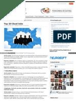 top cloud computing strategies