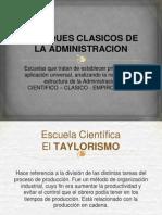 enfoques clasicos de la administracion pptx
