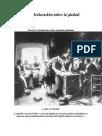 Una Breve Declaración Sobre La Piedad Puritana