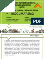 Tema Bioclimatismo.