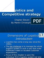 Logistics and Competitive Advantage