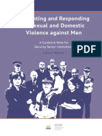 Preventing RespondiPreventing and Responding to Sexual and Domestic Violence against Men