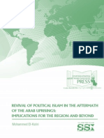 Revival of Political Islam in the Aftermath of Arab Uprisings