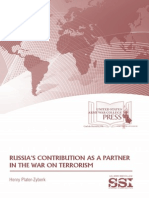 Russia's Contribution as a Partner in the War on Terrorism
