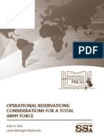 Operational Reservations