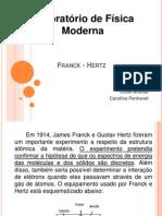 Franck - Hertz
