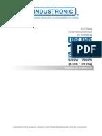 Manual UPS IND1200 Espanol