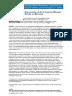 Daystar - Integrated Cost and Environmental LCA of Biomass