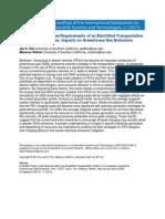 Kim - Impacts on Greenhouse Gas Emissions