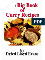 The Big Book of Curry Recipes - Lloyd Evans, Dyfed