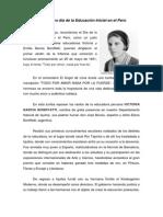 25 de Mayo Día de La Educación Inicial en El Perú