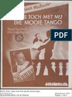 Dans Toch Met Mij Die Mooie Tango