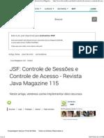 JSF_ Controle de Sessões e Controle de Acesso - Revista Java Magazine 115