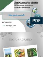 DIAPO de EXPO de Tributos Sector Agrario y Acuicola