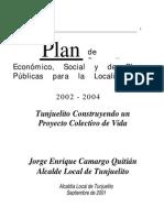 Plan Desarrollo Tunjuelito